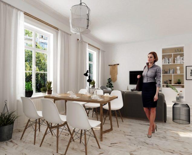 一級建築士の副業:住宅展示場の建築アドバイザーのイメージ画像