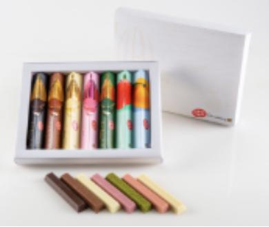 公式サイト:キットカット ショコラトリー::7本のギフトセットの写真